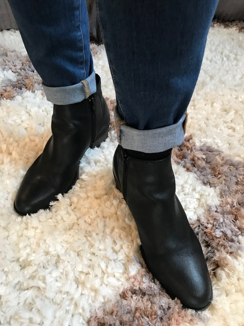 josef seibel black booties
