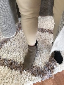 gray brown boots