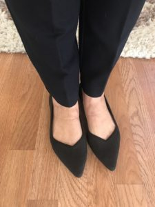 Rothys black pointy flats