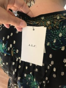 ALC printed blouse