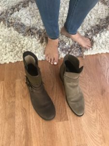 taupe boots, brown boots